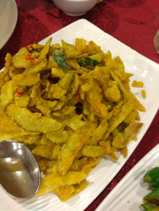 bitter gourd with salted egg york